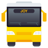 Oncoming Bus on JoyPixels 5.5