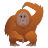 Orangutan on JoyPixels 5.5