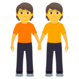 People Holding Hands on JoyPixels 5.5