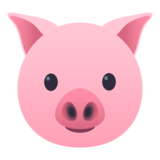 Pig Face on JoyPixels 5.5