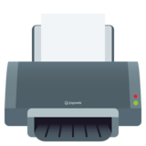 Printer on JoyPixels 5.5
