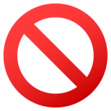 Prohibited on JoyPixels 5.5