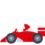 Racing Car on JoyPixels 5.5