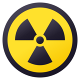 Radioactive on JoyPixels 5.5