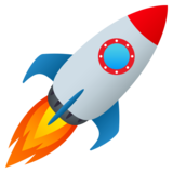 Rocket on JoyPixels 5.5