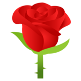 Rose on JoyPixels 5.5