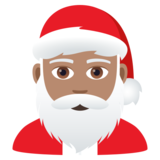 Santa Claus: Medium Skin Tone on JoyPixels 5.5