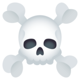 Skull and Crossbones on JoyPixels 5.5