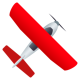 Small Airplane on JoyPixels 5.5