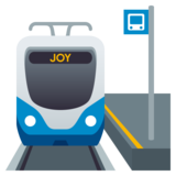 Station on JoyPixels 5.5
