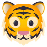 Tiger Face on JoyPixels 5.5