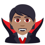 Vampire: Medium Skin Tone on JoyPixels 5.5