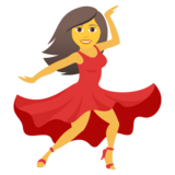 Woman Dancing on JoyPixels 5.5