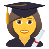 Woman Student on JoyPixels 5.5
