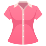 Woman's Clothes on JoyPixels 5.5