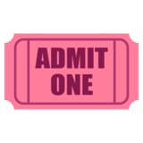 Admission Tickets on JoyPixels 6.0