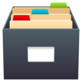 Card File Box on JoyPixels 6.0