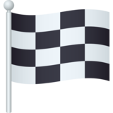 Chequered Flag on JoyPixels 6.0