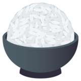 Cooked Rice on JoyPixels 6.0