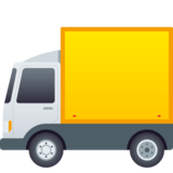 Delivery Truck on JoyPixels 6.0
