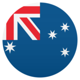Flag: Australia on JoyPixels 6.0