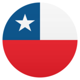 Flag: Chile on JoyPixels 6.0