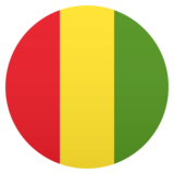 Flag: Guinea on JoyPixels 6.0