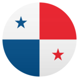 Flag: Panama on JoyPixels 6.0