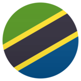 Flag: Tanzania on JoyPixels 6.0