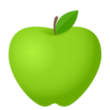 Green Apple on JoyPixels 6.0