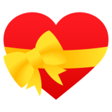 Heart with Ribbon on JoyPixels 6.0