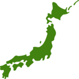 Map of Japan on JoyPixels 6.0