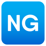 NG Button on JoyPixels 6.0