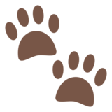 Paw Prints on JoyPixels 6.0