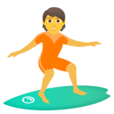 Person Surfing on JoyPixels 6.0