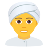 Person Wearing Turban on JoyPixels 6.0