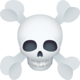 Skull and Crossbones on JoyPixels 6.0