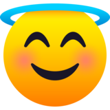 Smiling Face with Halo on JoyPixels 6.0