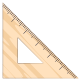 Triangular Ruler on JoyPixels 6.0