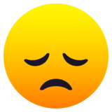 Disappointed Face on JoyPixels 6.5