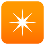 Eight-Pointed Star on JoyPixels 6.5