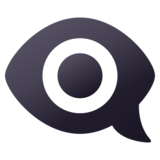 Eye in Speech Bubble on JoyPixels 6.5