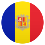 Flag: Andorra on JoyPixels 6.5