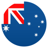 Flag: Australia on JoyPixels 6.5