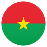 Flag: Burkina Faso on JoyPixels 6.5