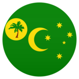 Flag: Cocos (Keeling) Islands on JoyPixels 6.5