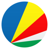Flag: Seychelles on JoyPixels 6.5