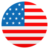 Flag: United States on JoyPixels 6.5