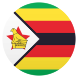 Flag: Zimbabwe on JoyPixels 6.5