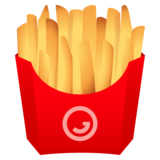 French Fries on JoyPixels 6.5